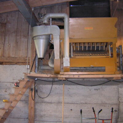 Heu- und Stroh-Entstaubungsmaschine